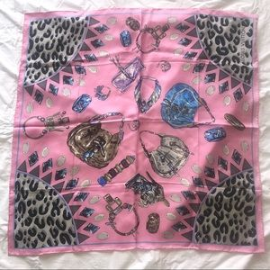 Pink Purse Louis Vuitton Wrap / Scarf